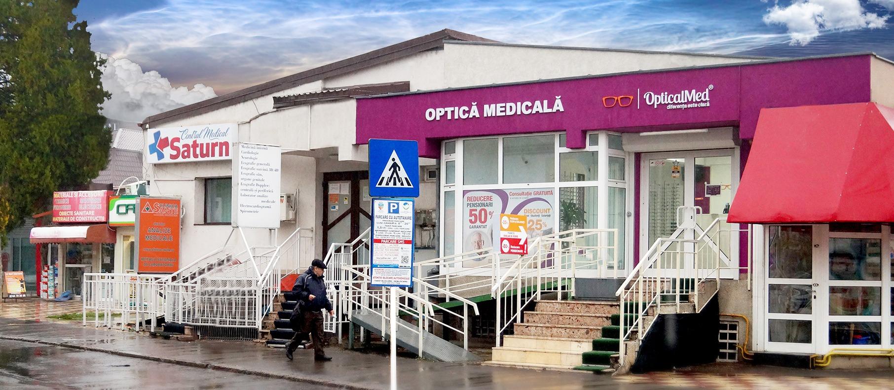 OpticalMed ⦿ Optică medicală Galați