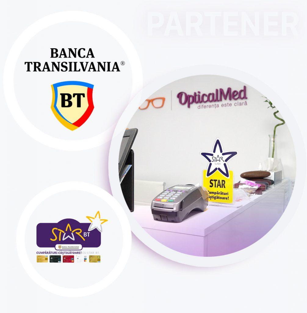 Optica medicala Galati - parteneriat Banca Transilvania